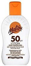 Parfumuri și produse cosmetice Loțiune de protecție solară pentru corp - Malibu Sun Lotion High Protection SPF50