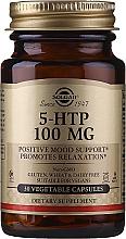 "Parfumuri și produse cosmetice Supliment alimentar ""Hidroxitriptofan"" - Solgar 5-Htp 100mg Veg Capsules"