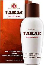 Parfumuri și produse cosmetice Maurer & Wirtz Tabac Original Pre Electric Shave - Loțiune înaintea rasului electric