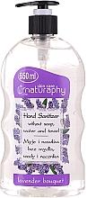 Parfumuri și produse cosmetice Gel cu alcool pentru mâini, aromă de lavandă - Bluxcosmetics Naturaphy Alcohol Hand Sanitizer With Lavender Fragrance
