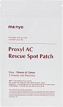 Parfumuri și produse cosmetice Patch spot - Manyo Factory Proxyl AC Rescue Spot Patch
