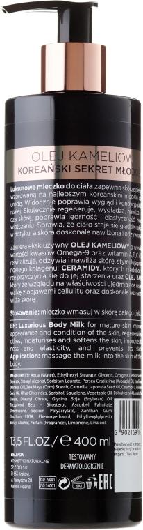 Lăptișor pentru corp - Bielenda Camellia Oil Luxurious Body Milk — Imagine N2