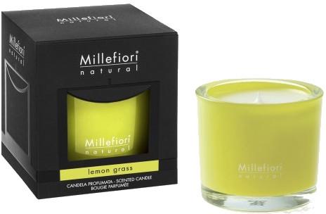 "Lumânare aromată ""Lemongrass"" - Millefiori Milano Natural Candle Lemon Grass — Imagine N1"
