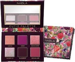 Parfumuri și produse cosmetice Paletă fard de pleoape - Nabla Cutie Collection Palette Wild Berry