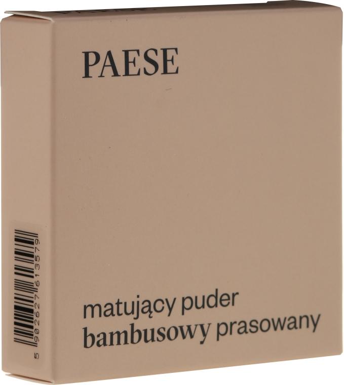 Pudră mată de față - Paese Powder Mate