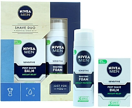 Parfumuri și produse cosmetice Set - Nivea for Men Shave Master Gift Set (sh/foam/200ml+post/shave/balm/100ml)