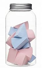 Parfumuri și produse cosmetice Bureți pentru machiaj, în borcan, 415216, 14 buc - Inter-Vion