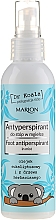 Parfumuri și produse cosmetice Antiperspirant pentru picioare - Marion Dr Koala Foot Antiperpirant In Mist