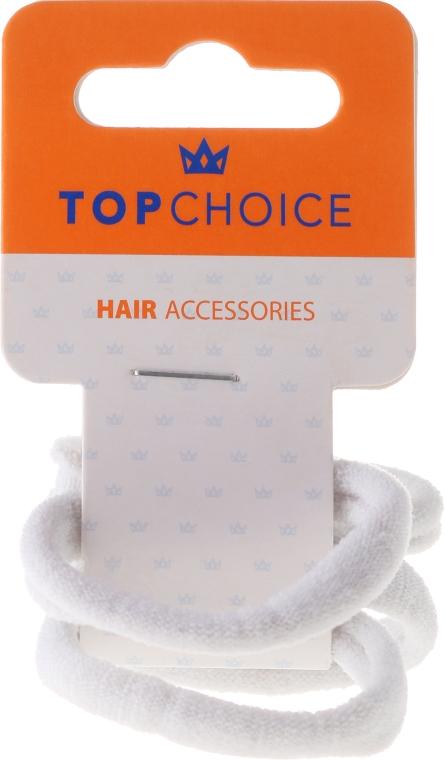 Elastice de păr, 2579, albe - Top Choice