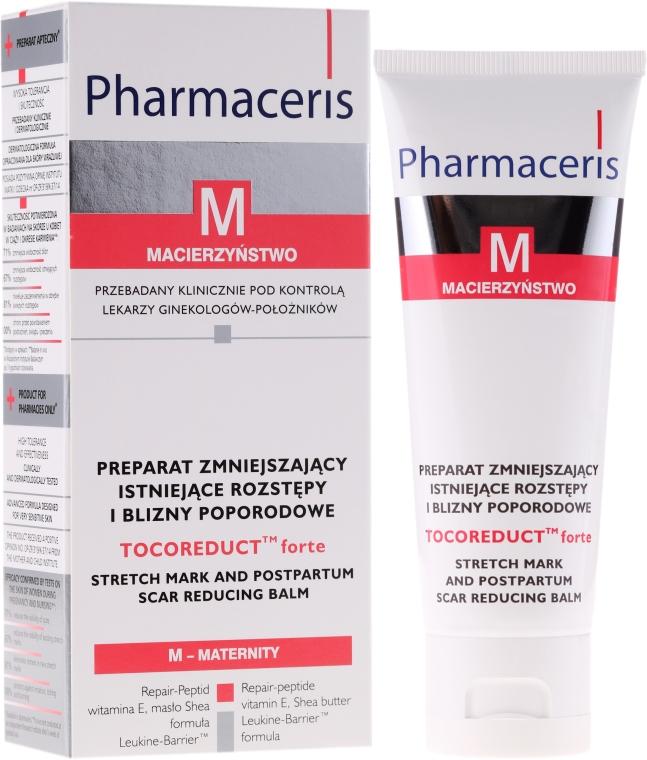Balsam pentru corp împotriva vergeturilor - Pharmaceris M Tocoreduct Forte Stretch Mark Reduction Balm — Imagine N1