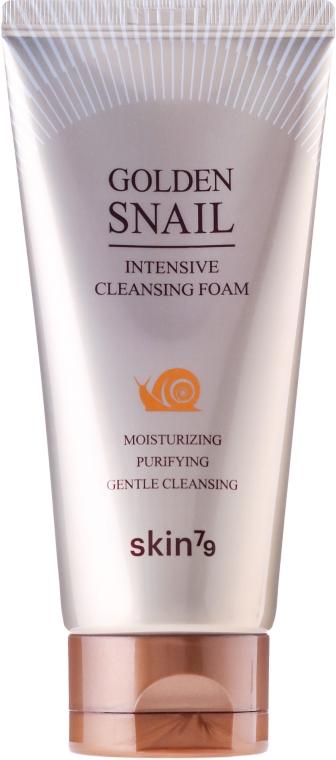 Spumă de curățare cu mucus de melc - Skin79 Golden Snail Cleansing Foam — Imagine N2