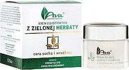 Parfumuri și produse cosmetice Cremă cu extract de ceai verde pentru față - Ava Laboratorium Green Tea Cream For Dry And Sensitive Skin