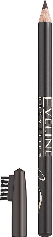 Creion pentru sprâncene - Eveline Cosmetics Eyebrow Pencil