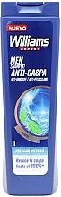 Parfumuri și produse cosmetice Șampon anti-mătreață - Williams Refresh Anti-Dandruff Shampoo