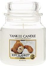 Parfumuri și produse cosmetice Lumânare aromată, în borcan - Yankee Candle Soft Blanket