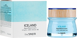Cremă hidratantă de față - The Saem Iceland Aqua Moist Cream — Imagine N1