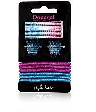 """Parfumuri și produse cosmetice Set accesorii pentru păr """"Beauty Hair"""" FA-5528, 20 buc. - Donegal"""