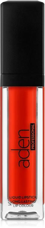 Ruj mat de buze - Aden Cosmetics Liquid Pro Lipstick