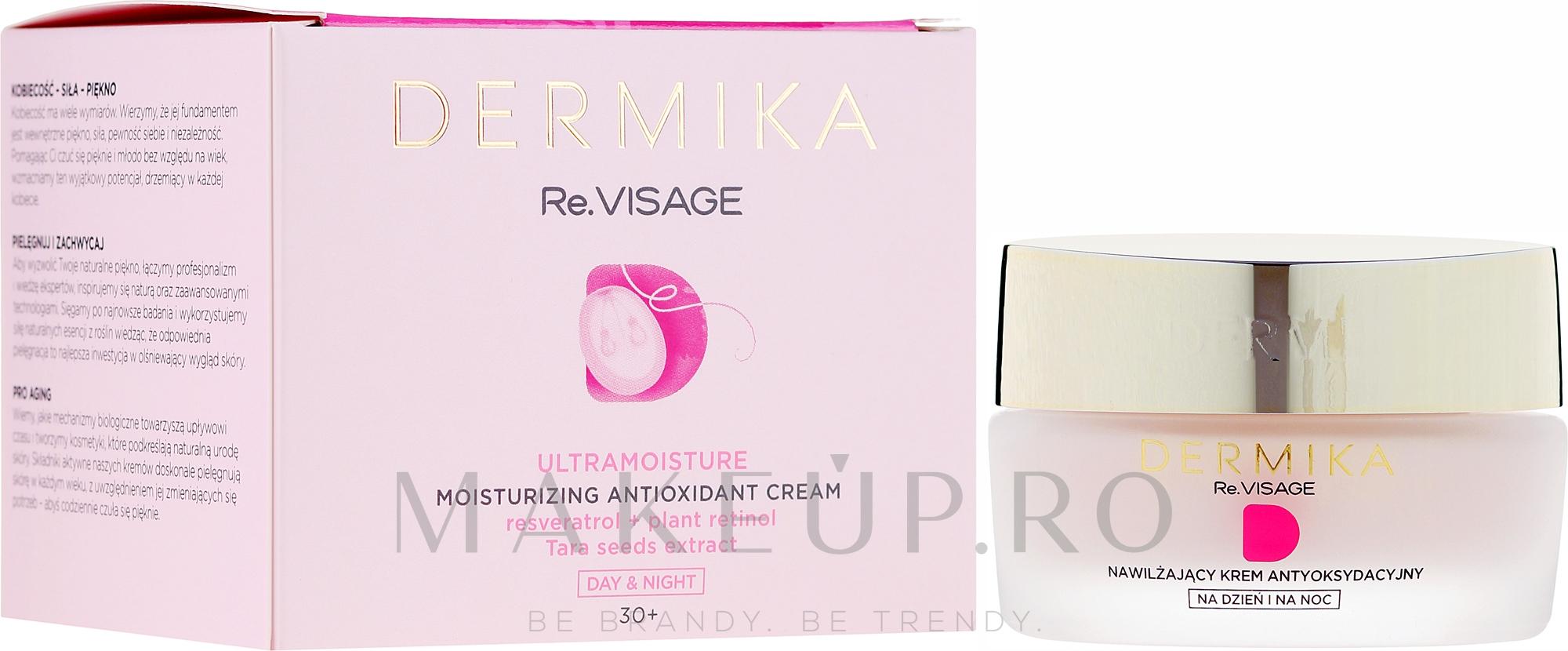 Cremă de față 30+ - Dermika Re.Visage — Imagine 50 ml