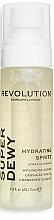 Parfumuri și produse cosmetice Spray cu glucozamină pentru față - Revolution Skincare Superdewy Moisturizing Spray