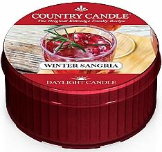 """Parfumuri și produse cosmetice Lumânare de ceai """"Sangria de iarnă"""" - Country Candle Winter Sangria Daylight"""