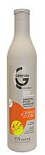 Parfumuri și produse cosmetice Șampon-booster pentru volumul și echilibrul părului - Greenini Orange & Jojoba