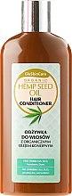 Parfumuri și produse cosmetice Balsam cu ulei organic de cânepă pentru păr - GlySkinCare Organic Hemp Seed Oil Hair Conditioner