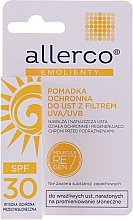 Parfumuri și produse cosmetice Ruj de buze, cu filtru de protecție UVA/UVB - Allerco Emolienty Molecule Regen7 Lip Balm SPF30