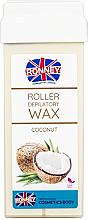 """Parfumuri și produse cosmetice Ceară depilatoare, cartuș """"Nucă de cocos"""" - Ronney Professional Wax Cartridge Coconut"""