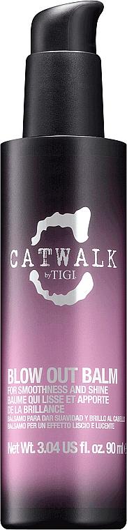 Cremă de păr - Tigi Catwalk Sleek Mystique Blow Out Balm — Imagine N1