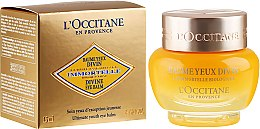 Parfumuri și produse cosmetice Balsam antirid pentru pleoape - L'Occitane Immortelle Divine Eye Balm