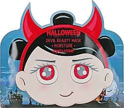 Parfumuri și produse cosmetice Mască hidratantă cu acid hialuronic - Ayoume Halloween Devil Beauty Mask Moisture