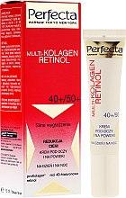 Parfumuri și produse cosmetice Cremă pentru zona ochilor - Dax Cosmetics Perfecta Multi-Collagen Retinol Eye Cream 40+/50+