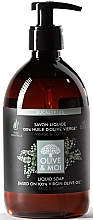 """Parfumuri și produse cosmetice Săpun lichid cu ulei de măsline """"Eucalipt"""" - Saryane Olive & Moi Liquid Soap"""