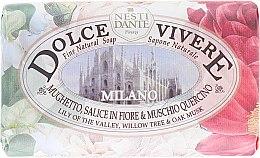 """Săpun """"Milano"""" - Nesti Dante Dolce Vivere Milano — Imagine N1"""