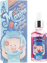 Parfumuri și produse cosmetice Ser cu colagen marin pentru față  - Elizavecca Hell Pore Marine Collagen Ample 95%