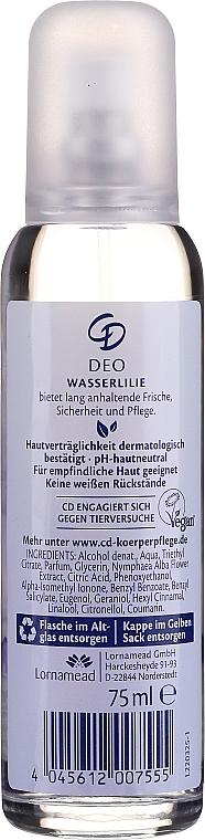 "Deodorant-spray ""Crin de apă"" - CD Deo — Imagine N2"