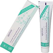 Parfumuri și produse cosmetice Pastă de dinți cu un complex de extracte din 24 de plante - Apeiron Auromere Herbal Toothpaste