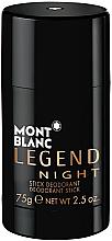 Parfumuri și produse cosmetice Montblanc Legend Night Stick - Deodorant