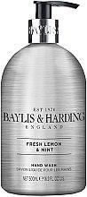 Parfumuri și produse cosmetice Săpun lichid de mâini - Baylis & Harding Elements Lemon and Mint Hand Wash