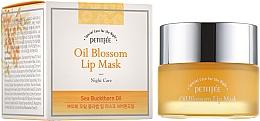 Parfumuri și produse cosmetice Mască cu ulei de cătină și vitamina E de noapte pentru buze - Petitfee & Koelf Oil Blossom Lip Mask
