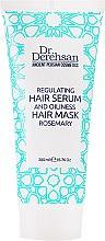 "Parfumuri și produse cosmetice Masca pentru păr gras "" Rozmarin"" - Dr. Derehsan Hair Mask Rosemary"