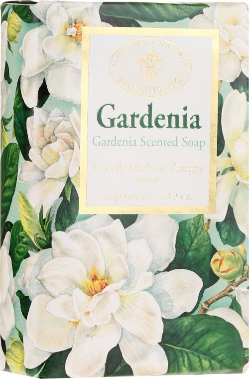 """Săpun natural """"Gardenia"""" - Saponificio Artigianale Fiorentino Masaccio Gardenia Soap"""
