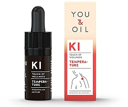 Parfumuri și produse cosmetice Amestec de uleiuri esențiale - You & Oil KI-Temperature Touch Of Welness Essential Oil