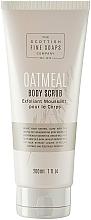 Parfumuri și produse cosmetice Scrub pentru corp - Scottish Fine Soaps Oatmeal Body Scrub