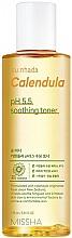 "Parfumuri și produse cosmetice Toner calmant pentru ten sensibil ""Calendula"" - Missha Su:Nhada Calendula pH 5.5 Soothing Toner"
