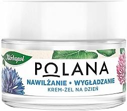 Parfumuri și produse cosmetice Cremă-gel hidratantă de zi cu efect de netezire pentru față - Polana