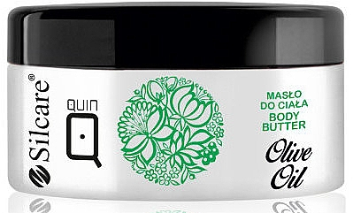 Ulei de corp - Silcare Quin Olive Oil Body Butter — Imagine N1