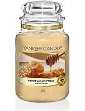 Parfumuri și produse cosmetice Lumânare parfumată în suport de sticlă - Yankee Candle Sweet Honeycomb