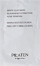 Parfumuri și produse cosmetice Mască de curățare pentru față - Pilaten White Clay Mask Blackhead Extraction Acne Removal (Mostră)